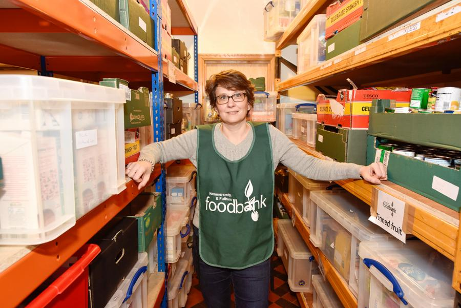 CEO of H&F Foodbank, Daphine Aikens