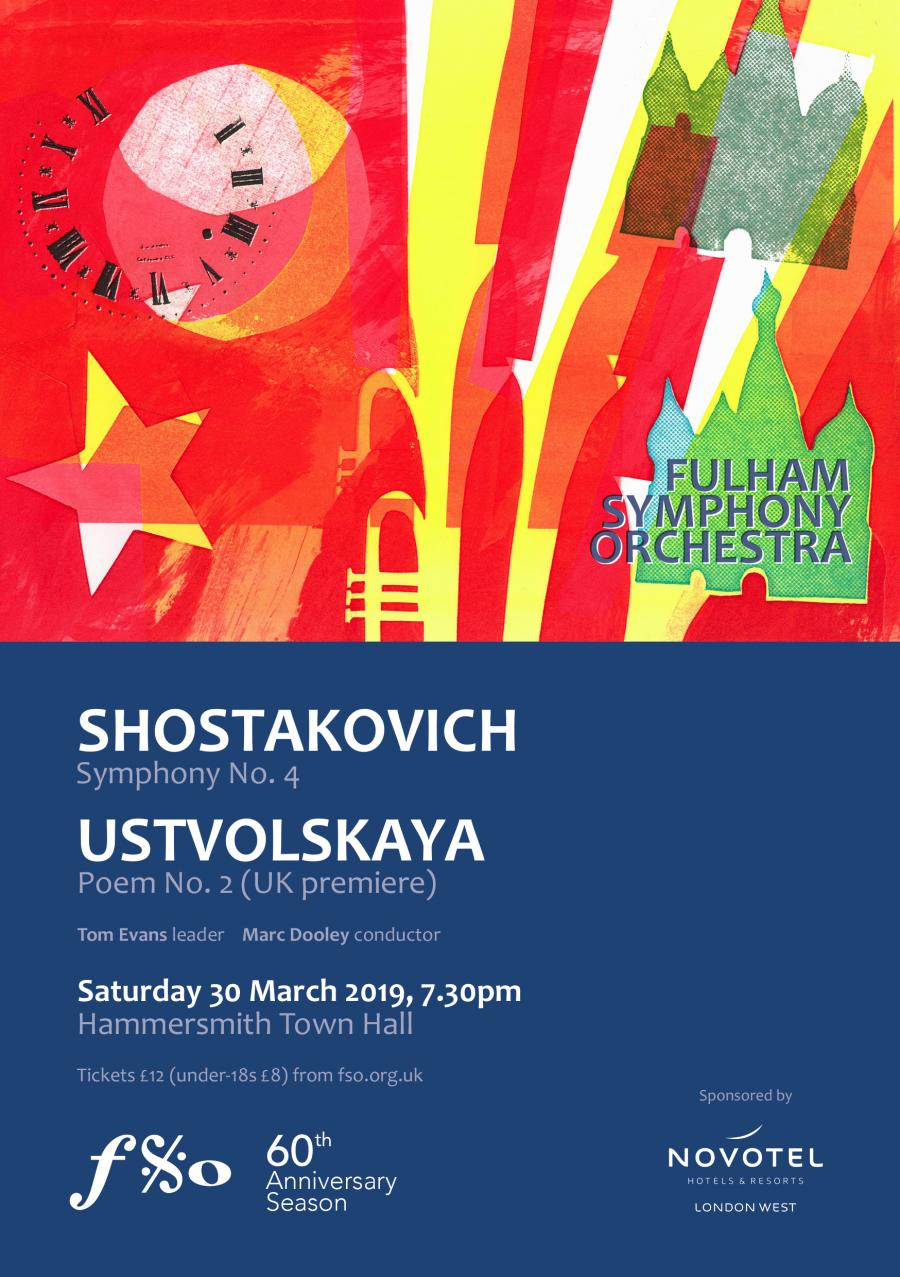 Fulham Symphony Orchestra spring flyer