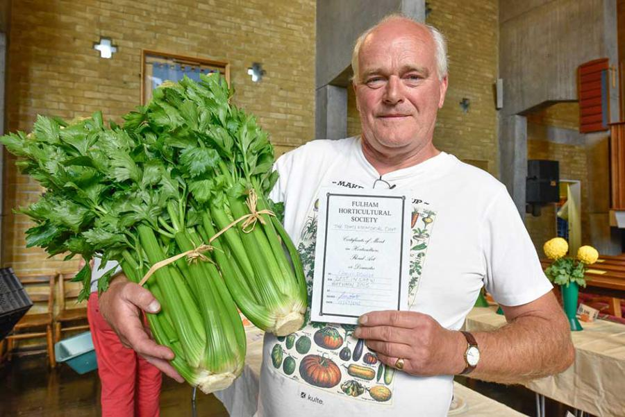 Charlie Dowson best in show celery 2015