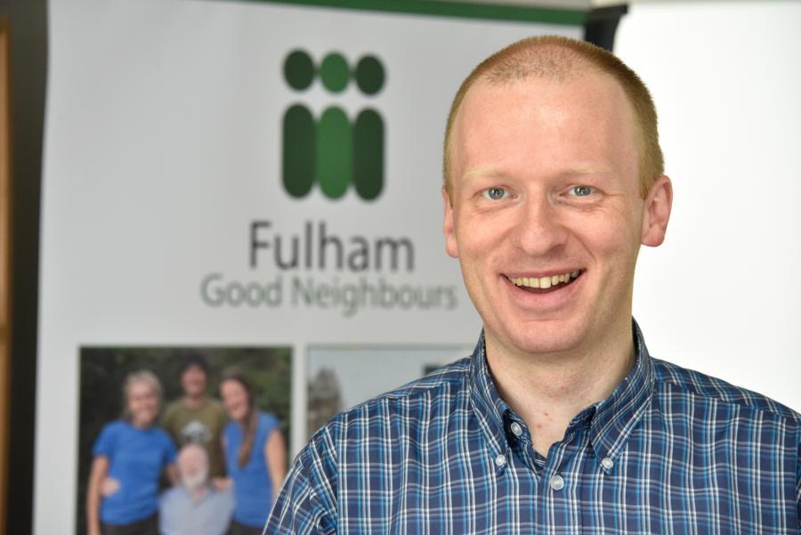 Fulham Good Neighbours director Chris Mikata-Pralat