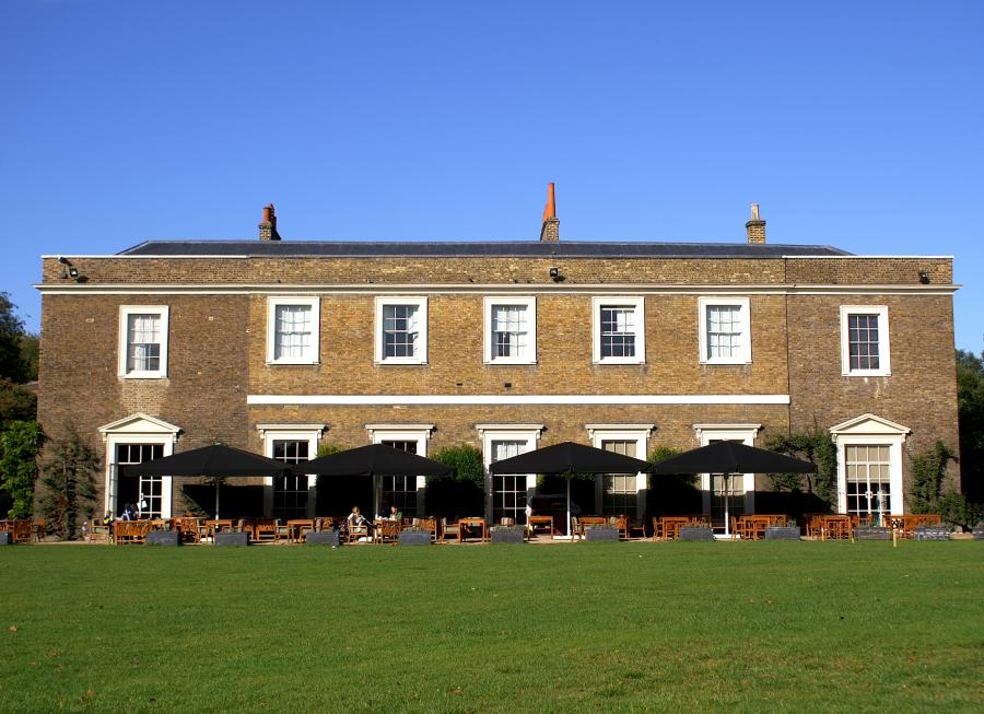 Exterior of Fulham Palace education centre