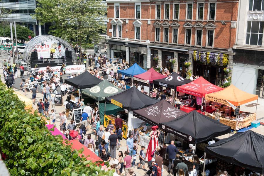 Hammersmith Spring Market