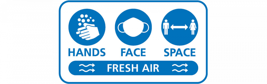 Keep washing your hands, wearing face coverings, making space and meeting in the fresh air