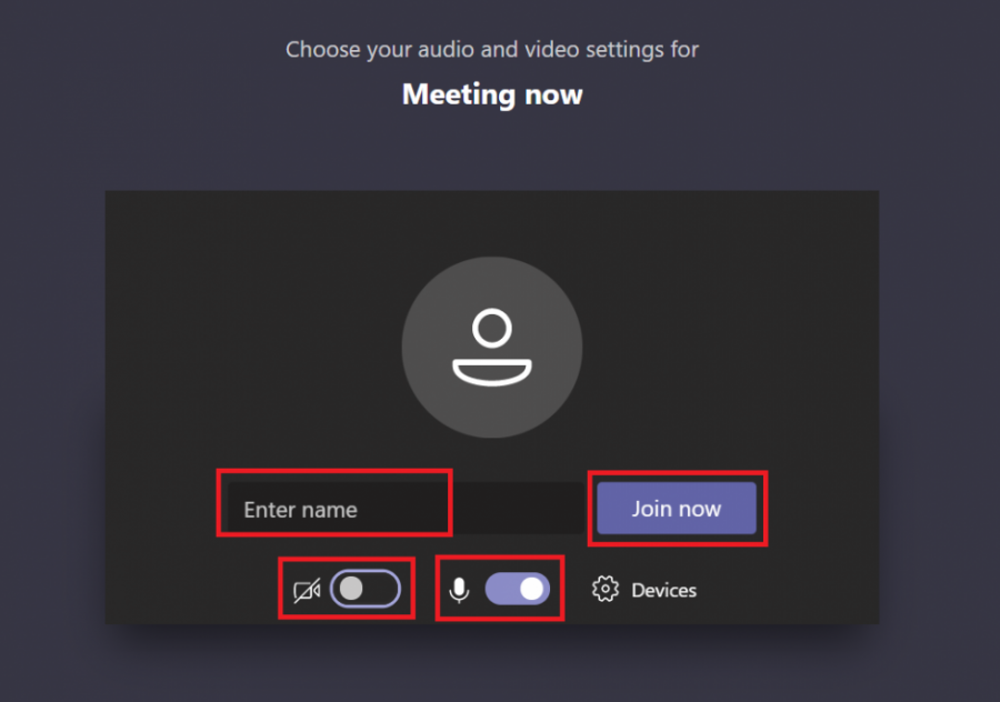 Join a Teams meeting fig 4