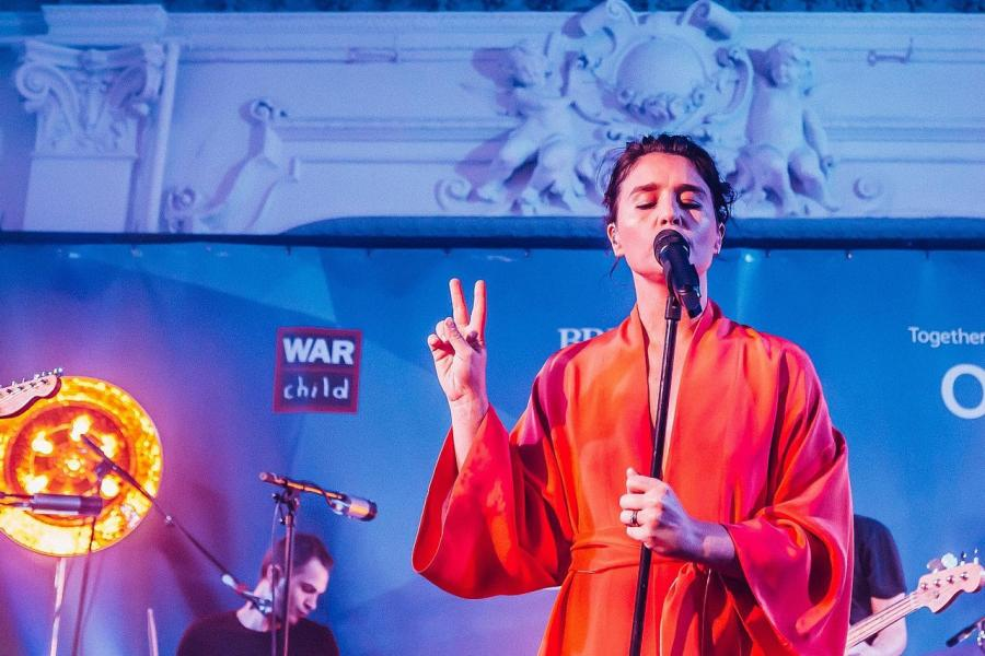Jessie Ware performing at Bush Hall