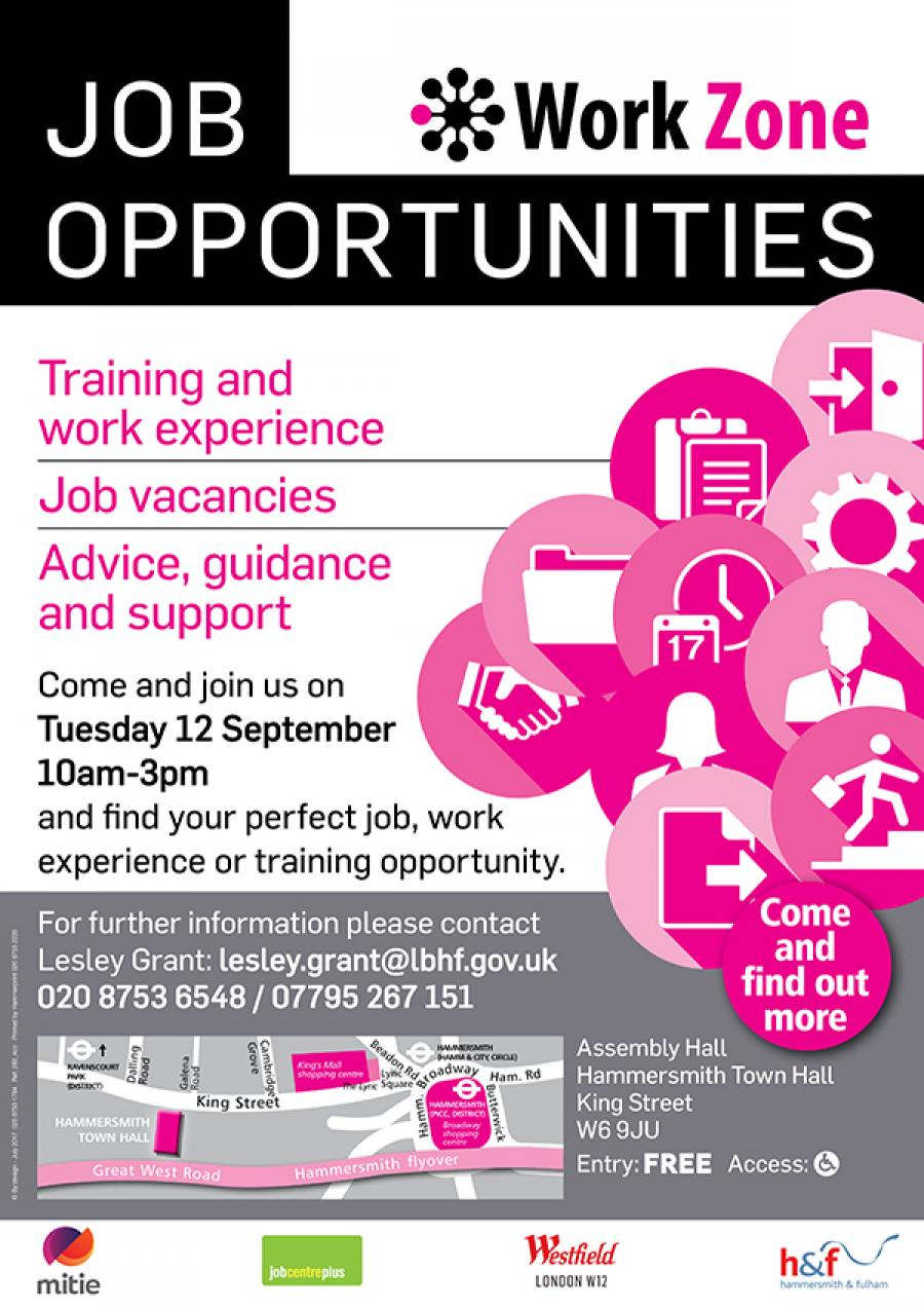 jobs and training on offer at h f jobs fair lbhf