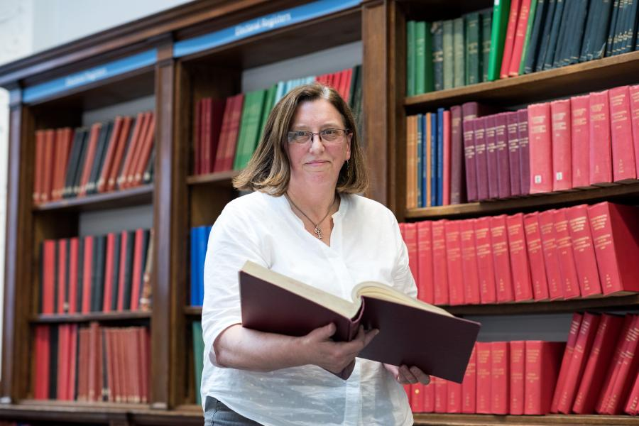 Kath Shawcross has been H&F's archivist since 2017, after 22 years' work at Sutton