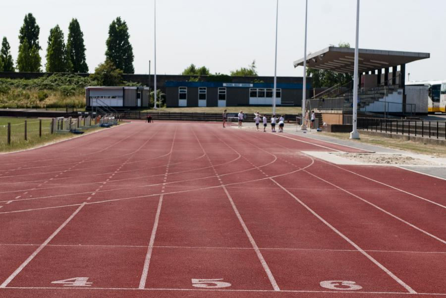 Linford Christie Stadium athletics track