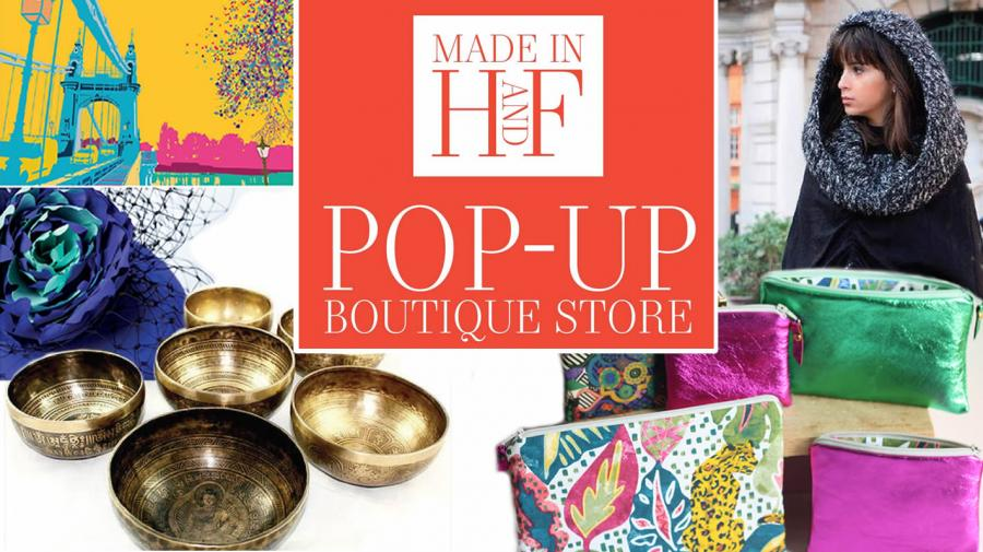 Made in H&F pop up boutique Kings Mall