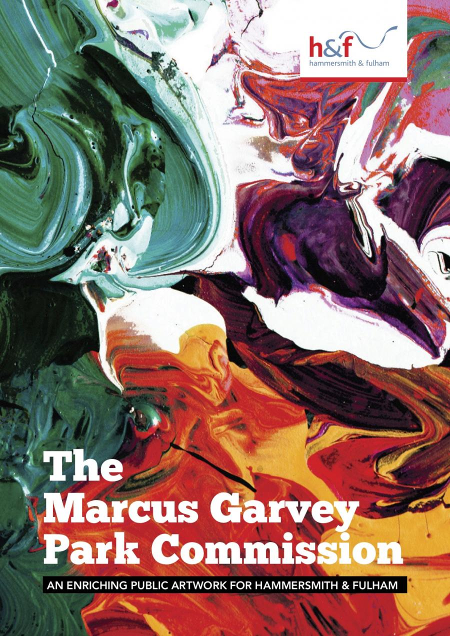 Marcus Garvey park arts commission poster