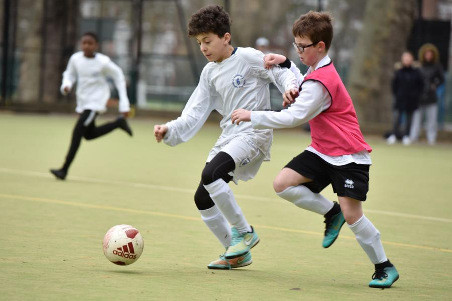 Mayor's Cup football finals at Hurlingham Park