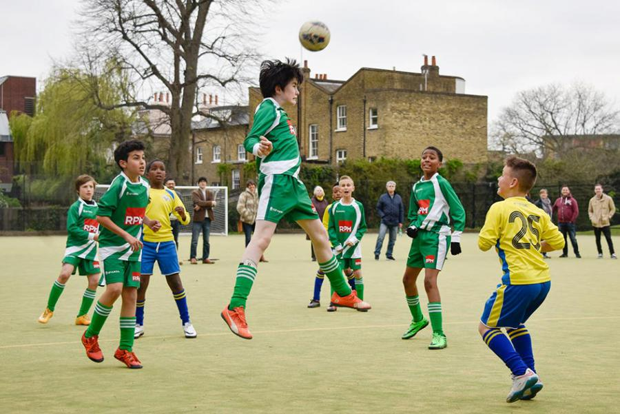 Mayor's Cup teams in action