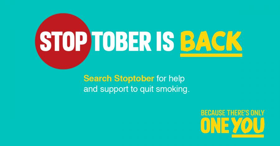 Stoptober is back - search Stoptober for help and support to quit smoking.