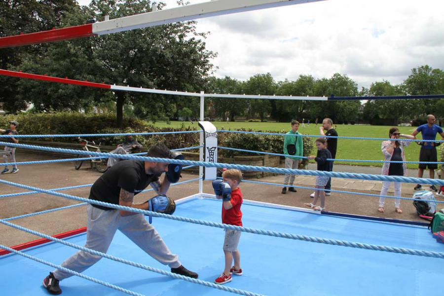 Hurlingham Boxing Club Rory Parsons