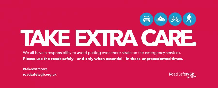 Road safety - Take Extra Care campaign