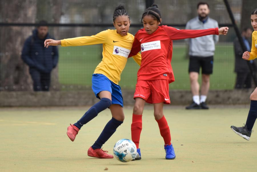St John's Walham Green girls football team