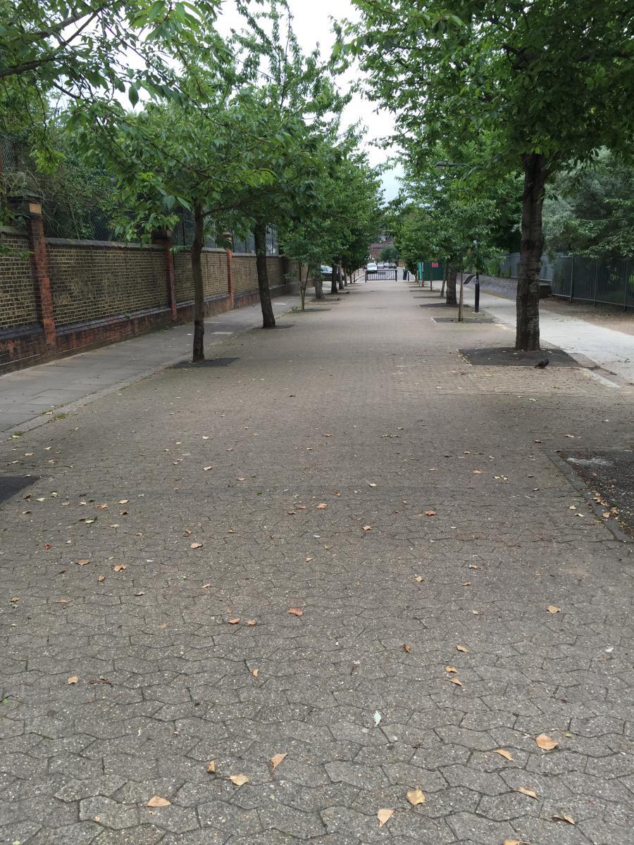Stevenage Road before
