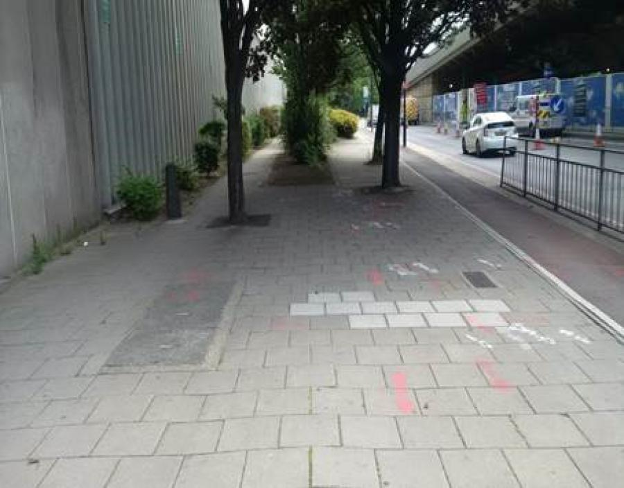 Talgarth Road Green Corridor 3