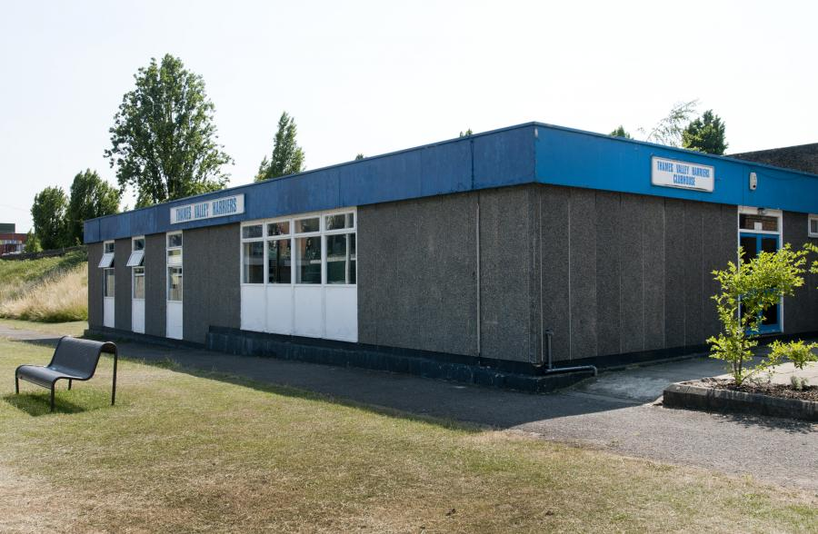 Thames Valley Harriers clubhouse