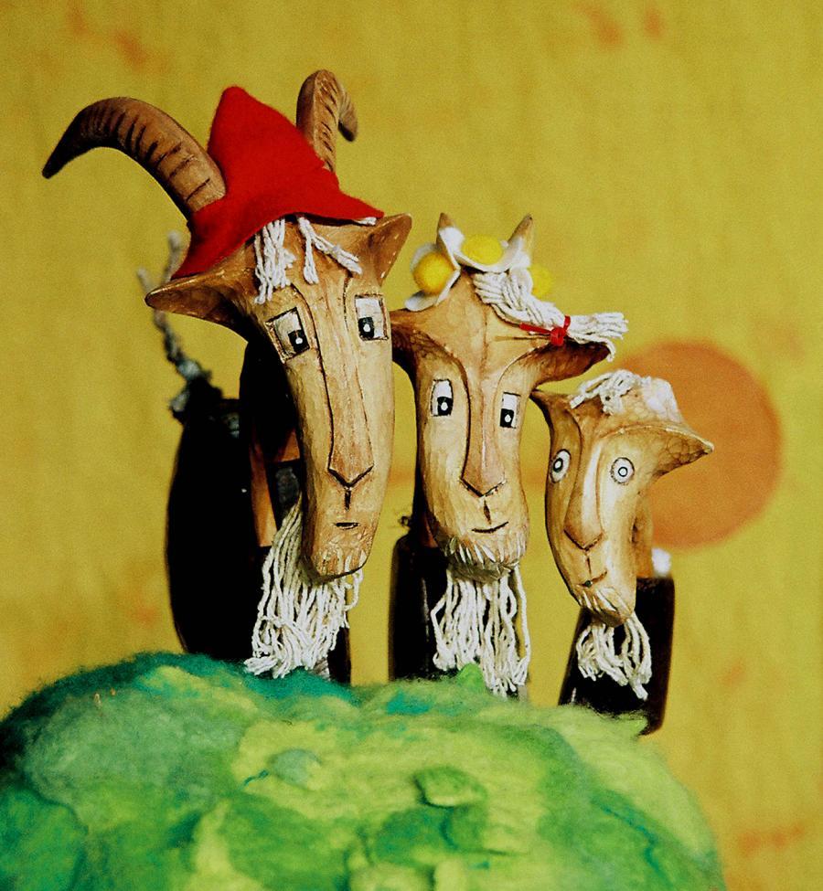 The Three Billy Goats Gruff by Garlic Theatre