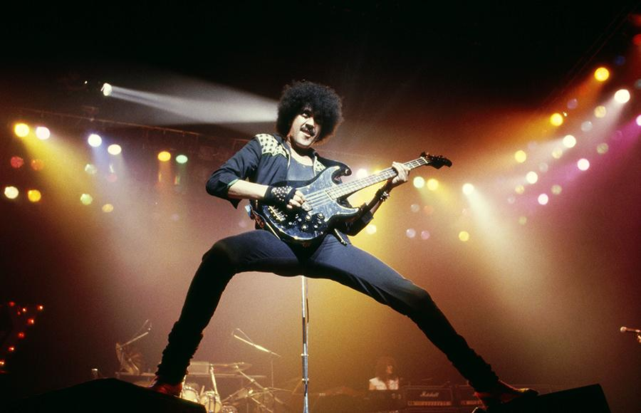 Thin Lizzy lead vocalist Phil Lynott