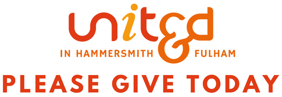 Link to UNITED in H&F Community Coronavirus Response Appeal donation page