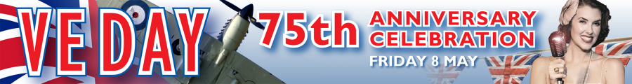 VE Day 75th anniversary celebration on Friday 8 May 2020