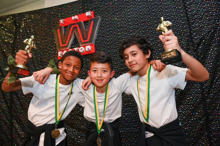 Romarni, Taiyo and Elyas scoop two awards