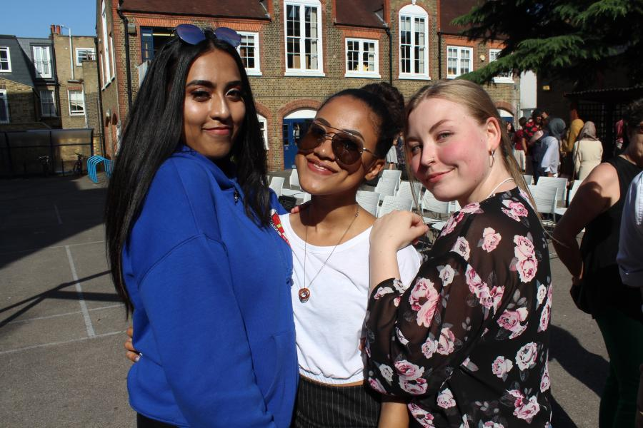 Current and former students of William Morris Sixth Form