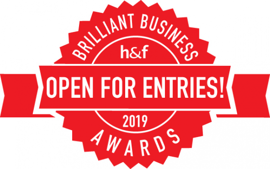 The Brilliant Business Awards 2019 are now open for entries