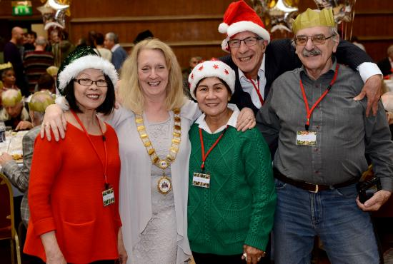 H&F Big Christmas Day Lunch at the town hall