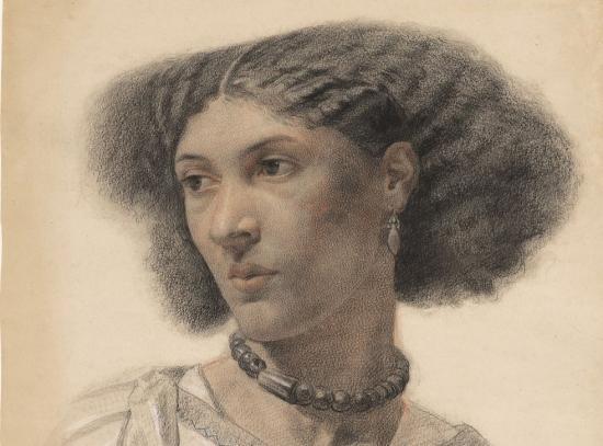 Drawing of Fanny Eaton