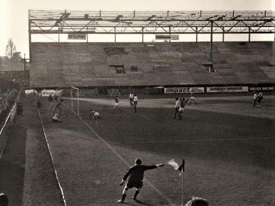 Construction of the Riverside Stand at Craven Cottage
