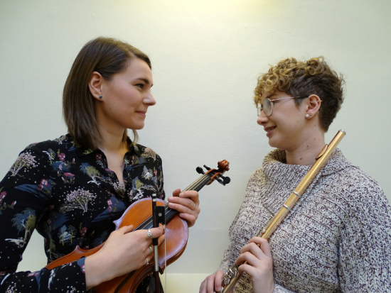 FLO flute and violin duo