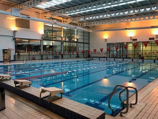 Fulham Pools' public swimming pool