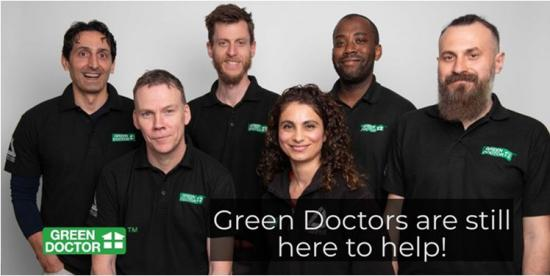 Green Doctor - free telephone energy consultations