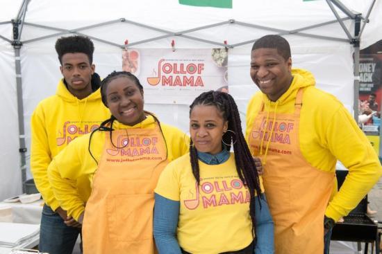 Tieyan Eweka's Nigerian eatery Jollof Mama