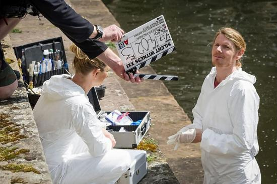 Location still from television drama Silent Witness