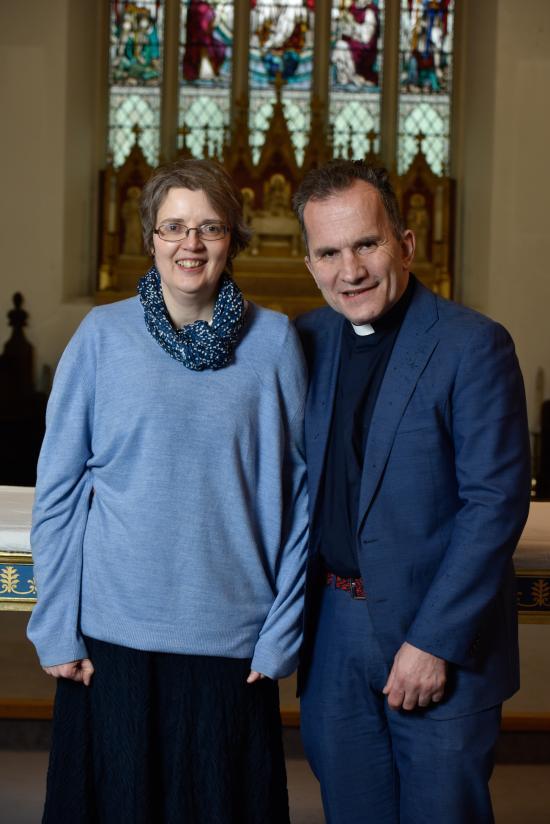 Rev Bob Mayo with his wife Sylvie