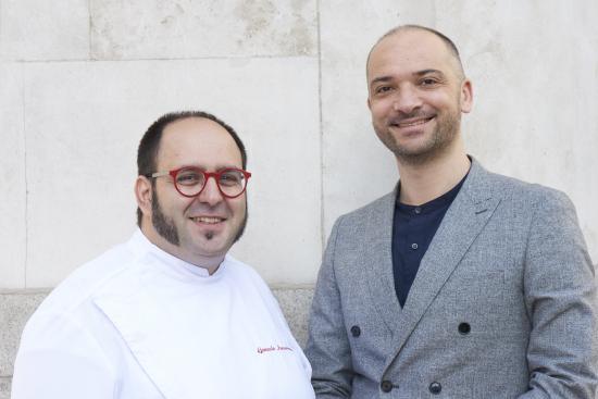 RIGO owners Gonzalo Luzarraga and friend Francesco Ferretti