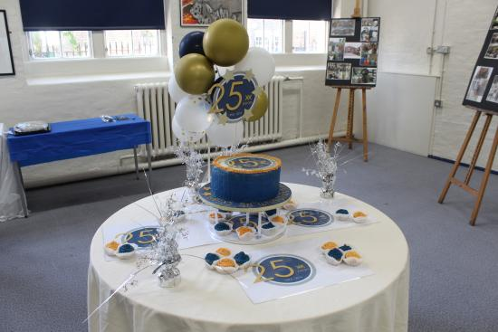 William Morris Sixth Form 25th anniversary cake