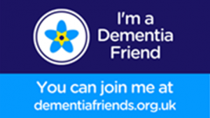 I'm a dementia friend - join me at dementiafriends.org.uk