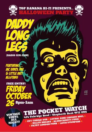 DJ Daddy Long Legs, link to pdf of flyer