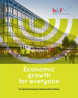 Economic growth for everyone - an industrial strategy for H&F