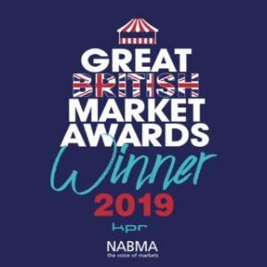 Great British Market awards winner 2019 badge
