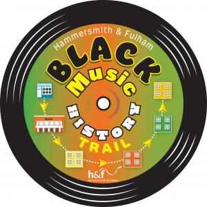 Hammersmith & Fulham black music history trail logo