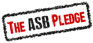 The ASB Pledge logo