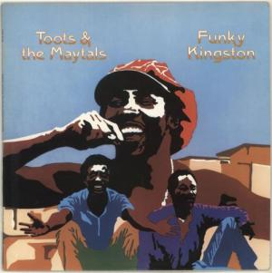 Vinyl cover for Toots and the Maytal's album Funky Kingston, released by Island Records