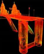 Structural scan of Hammersmith Bridge