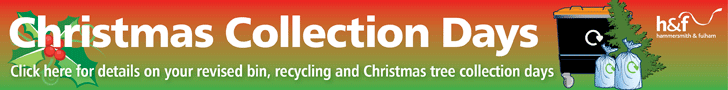 Christmas collection days - click here for more info